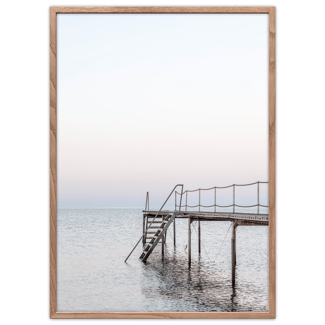 Halens Jetty Poster