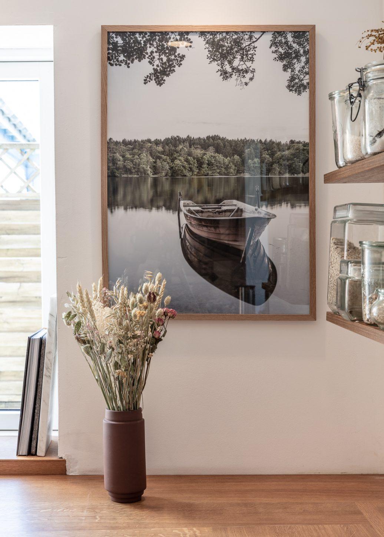 Lake Almind Poster