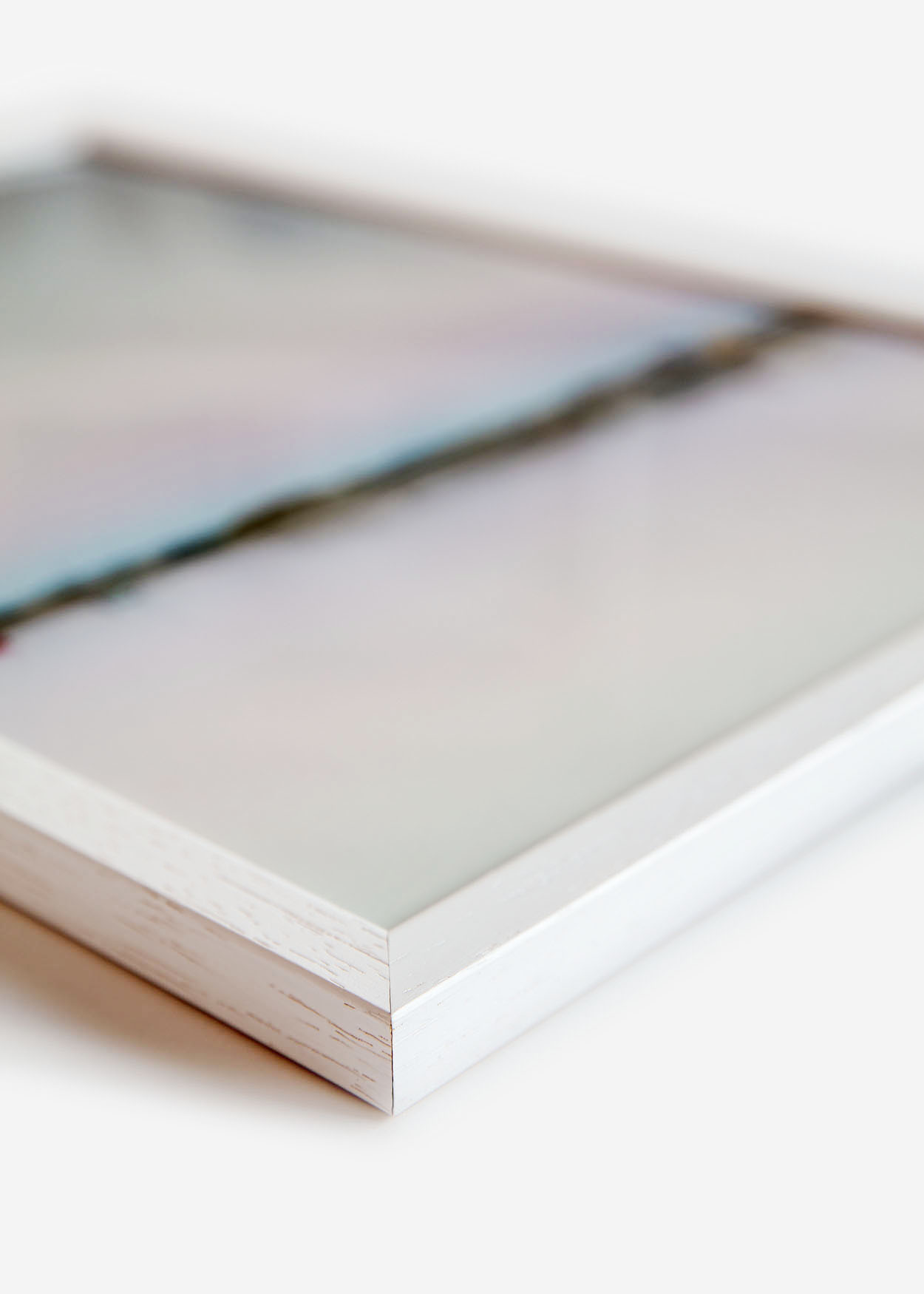 Frames in White Oak for prints and posters - Foto Factory