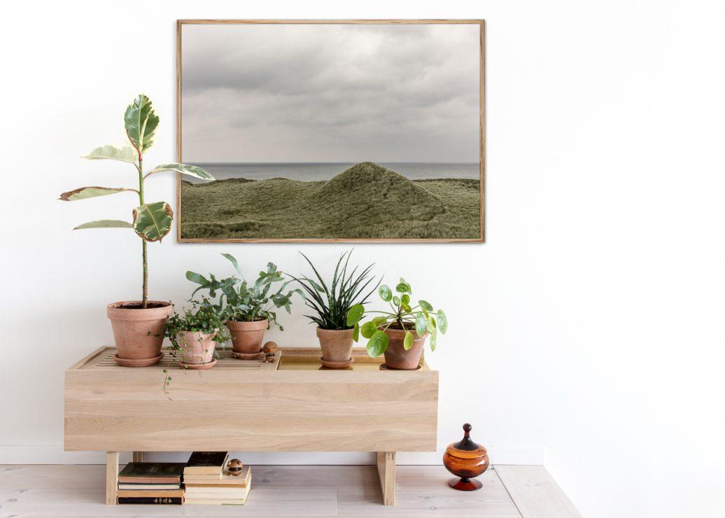 Green Dunes Poster