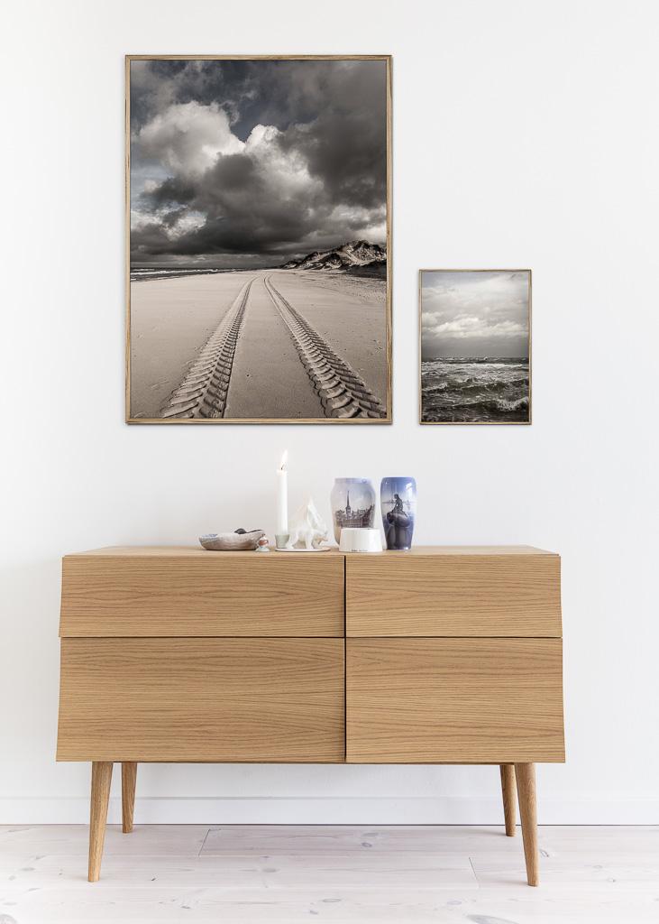 Track beach